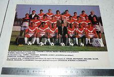 CLIPPING POSTER FOOTBALL 1987-1988 US VALENCIENNES ANZIN USVA NUNGESSER