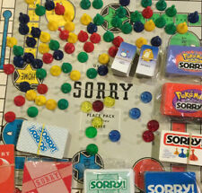 Board Game Parts: Sorry various years/themes/editions, replacement pieces