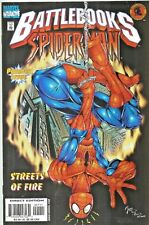 SPIDER-MAN BATTLEBOOK : STREETS OF FIRE  COVER 1 A  MARVEL 1998  NICE!!!