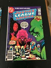 10 DC Comics JUSTICE LEAGUE of AMERICA #s173-182 Gerry Conway Dick Dillin