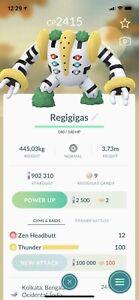 Regigigas Pokemon Trade Go L20 Same Day / 30 Day Trading PVP Ultra League Sinnoh