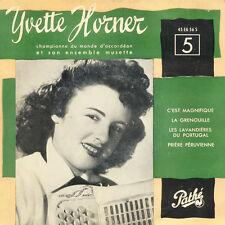 YVETTE HORNER C'est Magnifique La Grenouille... FR Press Pathé 45 EA 56 S EP