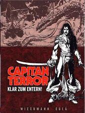 Capitan terrore LUSSO EDIZIONE #2 Hardcover lim.99 ex. Esteban Maroto capitano