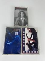 Lot Of 3 Kenny G Cassette Tapes - Live - Breathless - G Force