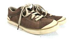 TEVA Men's Brown Suede Canvas Sneakers Sz. 8.5