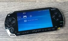 Sony PSP 1001 Piano Black Handheld System- Tested & Working- Missing Analog