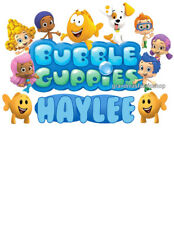 New Personalized Bubble Guppies T Shirt Party Favor Birthday Present Gift