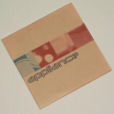 APPLIANCE - ARE YOU EARTHED? rare 5 track UK Indie Post Rock / Motorik sampler