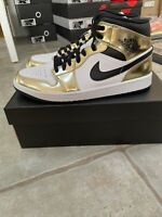BRAND NEW! Size 11- Jordan 1 Mid SE Metallic Gold 2020
