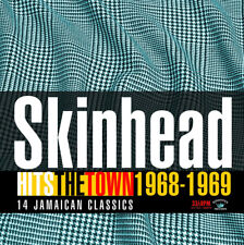 Skinhead Hits The Town 1968- 1969 NEW CD KINGSTON SOUNDS SKA ROCKSTEADY