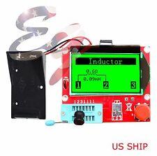 Red 12864 Mega328 Esr Transistor Resistor Diode Capacitor Mosfet Tester