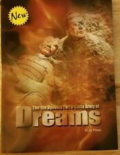 The Qin Dynasty Terra-Cotta Army Of Dreams Signed 1st Edition Zhang Lin