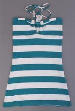 Wicked Weasel Women's Sailor Stripe 592 Dress HD3 Jade Medium