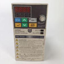 Omron 3G3MV-A2004 Sysdrive 3G3MV inverter 3ph 200V 0.4kW Used UMP