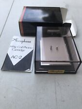 Accuphase moving coil cartridge box with manual