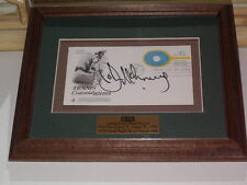 John McEnroe First Day Cover Signed and Framed