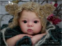 Studio-Doll Baby  Reborn  ASIAN  Girl   AKINA by ADRIE STOETE like real baby