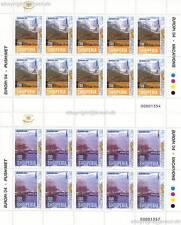 Europa CEPT 2004 vacanze-Albania 2966-67 piccoli archi **
