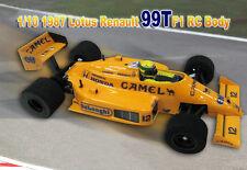 1/10 RTR Prepainted F1 1987 Ayrton Senna Lotus Honda 99T RC Body for Tamiya F103