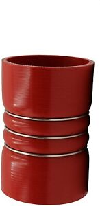 """Silicone Hump Hose Charge Air Cooler 4"""" ID x 6.25"""" Peterbilt Kenworth 4-ply"""