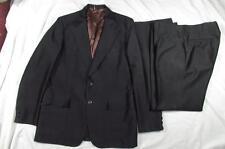 Vtg 60s 70s 2 Pc H Bar C Polyester Western Suit Rockabilly Jacket & Pants Nice!