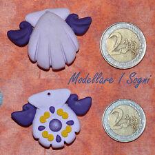 Collana Mermaid Melody VIOLA - Karen Necklace Violet - handmade fimo / premo