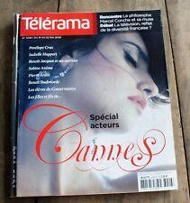 *TELERAMA 05/2009* Spécial acteurs de Cannes ( Penelope Cruz en couverture )