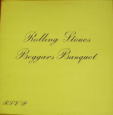 THE ROLLING STONES-BEGGARS BANQUET LP VINILO DOUBLE COVER 1970 SPAIN