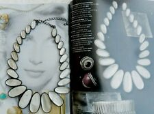 Lia Sophia Kiam Family Rock Quartz Necklace NEW In Box