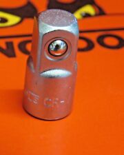 "Teng Tools 3/8"" MALE - 1/4 FMALE SQUARE DRIVE ADAPTER  CHROME VANADIUM"