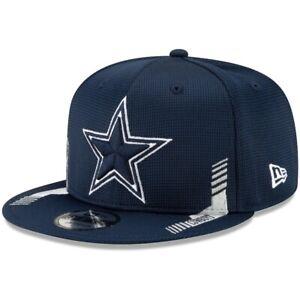 2021 Dallas Cowboys New Era 9FIFTY NFL Snapback Sideline Home On Field Hat Cap