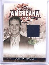 2008 Donruss Threads Baseball Americana Don Mattingly Jersey #D070/100 #BA3 *637