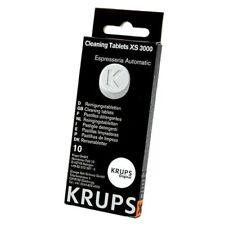 5 x 10 pezzi KRUPS Pulizia Compresse xs3000 1,5g caffè grasso semplicemente tagliato compresse