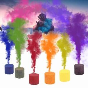 Smoke Cake Colorful Spray 6PCS Round Bomb Studio Divine Photography Accessories