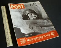 "WWII Home Front ""Picture Post"" Photo News Magazine. Vintage 23 January 1943."
