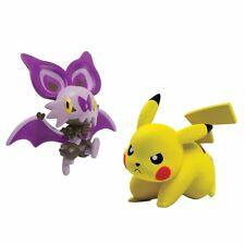 TOMy Pokemon Battle Action Figure, Pikachu vs Noibat