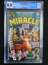 Mister Miracle 4 CGC 8.0!!! First Big Barda!!  New Gods Film!!!