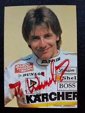 Thomas Winkelhock - DTM Autorennfahrer - Autogrammkarte mit e.U.