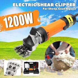 1200W Schafschere Elektro Schafschermaschine Schermaschine Trimmer Schafwolle EU