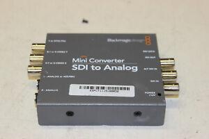 Black Magic Design Mini Converter SDI to  Analog NO POWER SUPPLY Converter Only