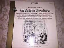 EVEREST BOX SET [2] GIUSEPPE VERDI'S UN BALLO IN MASCHERA STEREO ~ MINT 33rpm