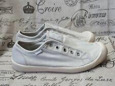 Palladium Flex Off White Light Grey Casual Slip On Shoes - Women's Size 7.5 / 39