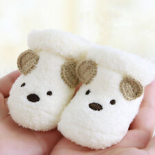 Baby-Mädchen Jungen Winter Boot-Kleinkind-Säuglingsprewalker Krippe Schuhe 0-6M
