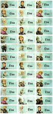 Personalized Waterproof Name labels stickers, 36 Frozen Medium ,day care,school,