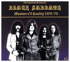 Black Sabbath - Masters Of Reality 1970-75 The Legendary Broadcasts Set 4CD