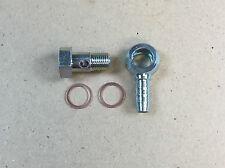 Hohlschraube m10x1/ringnippel avec schlüsselfäche pour pa-tube intérieur 6mm