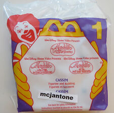 MIP McDonald's 1996 Aladdin #1 CASSIM + BACKGROUND Disney Sgl Toy CAKE TOPPER