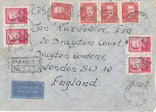 Poland 5808 - 1951 Registered Groszy cover cancelled PABIANICE 2