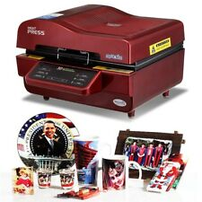 New listing Sublimation Vacuum Heat Press Printer Machine for Shirts, Cases, Mugs + More