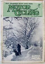 MOTOR CYCLING 4 Jan 1939 Original Motoring Motorcycle Magazine Royal Enfield